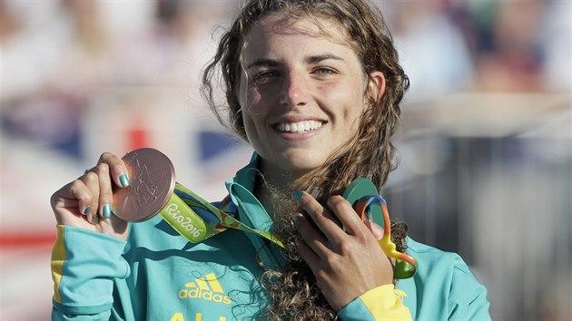 Australská kajakářka Jessica Foxová