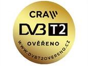 Označení přístrojů splňujících normu DVB-T2