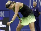 �esk� tenistka Petra Kvitov� do�la na US Open do osmifin�le.