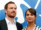 Michael Fassbender a Alicia Vikander p�edstavují film The Light Between Oceans...