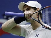 Nespokojen� Andy Murray ve �tvrtfin�le US Open