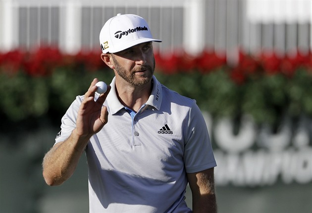 Dustin Johnson ve finále play-off FedEx Cupu.