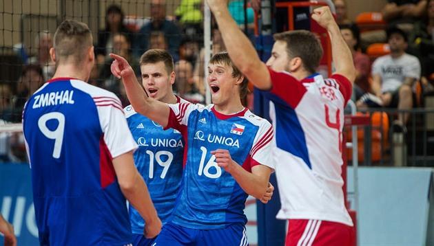 Los equipos de voleibol checo esperan una pelea por el campeonato mundial