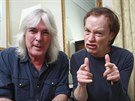Cliff Williams a Angus Young z AC/DC v roce 2014