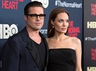 Brad Pitt a Angelina Jolie (New York, 12. kv�tna 2014)
