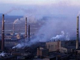Kouřící komíny jsou městskými dominanty.