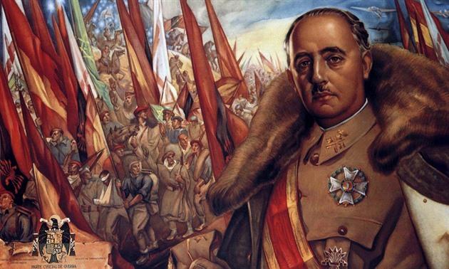 Výsledek obrázku pro FOTO diktátor franco
