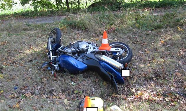 Tragická nehoda u Třeboně.