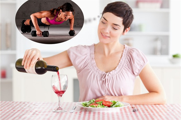 Články slibují, že si místo posilovny můžete dát červené víno. Je to naprostý...