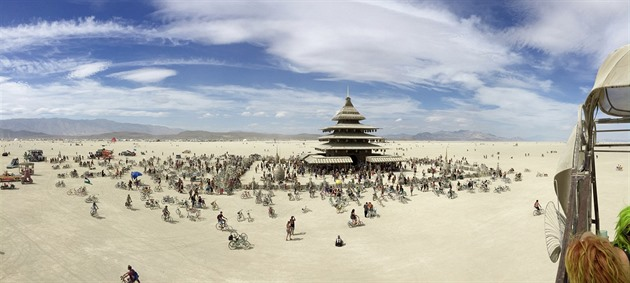 Burning Man 2016.
