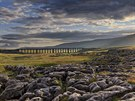 Francis Taylor - Sunshine breaks through, Ribblehead Viaduct, North Yorkshire,...