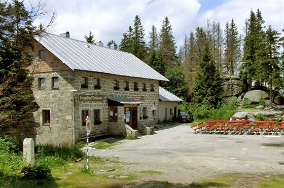 Horská chata na Třístoličníku (Dreisesselberg)