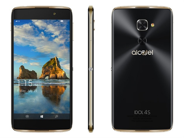 Alcatel Idol 4S s Windows 10 Mobile