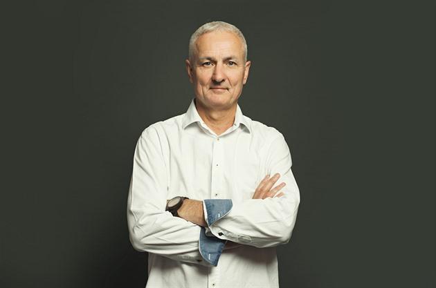 Bývalý majitel tiskárny v Pardubicích Petr Fryč.
