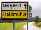 """Kousek od """"čáry"""". Haidmühle, východiště okruhu, je pohraniční obcí."""