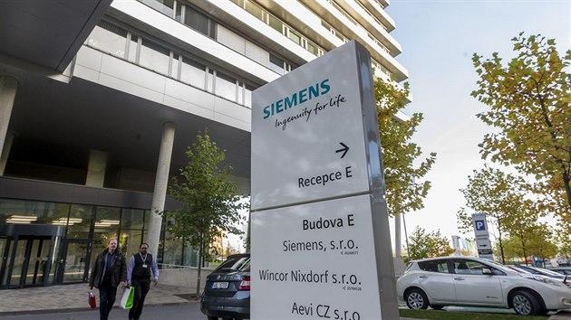 Areál Siemensu v pražskıch Stodůlkách