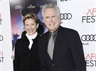 Warren Beatty a Annette Beningová (Los Angeles, 10. listopadu 2016)