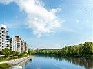 Užijte si krásu každodenního výhledu na Vltavu s projektem Marina Island