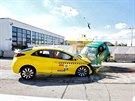 Crashtest Honda Civic vs. Smart