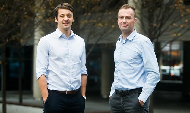 Martin Jahoda (vlevo) a Jan Březina vystudovali Vysokou školu ekonomickou.