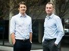 Martin Jahoda (vlevo) a Jan Březina vystudovali Vysokou školu ekonomickou v Praze. Jsou sportovní nadšenci, v roce 2013 založili firmu SportAnalytik s cílem motivovat děti ke sportu.