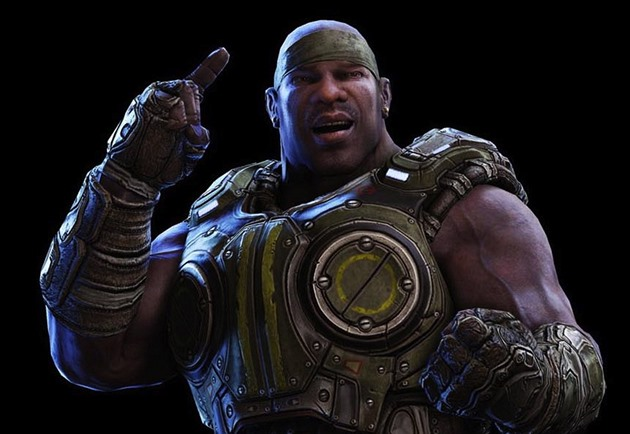 Cole Train z Gears of War