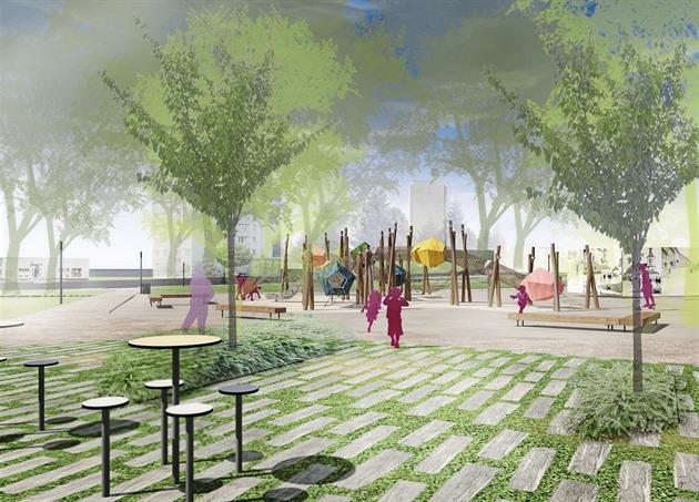 Centrem revitalizovaného humpoleckého parku Stromovka by se mělo stát dětské...
