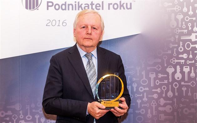 Miroslav Jelínek se stal Podnikatelem roku 2016 Středočeského kraje. Jeho firma...