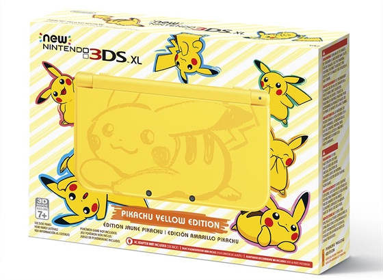 Pikachu Yellow Edition New Nintendo 3DS XL
