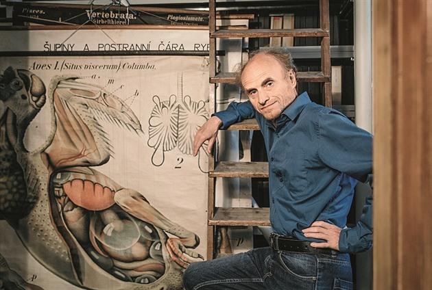 Profesor evoluční biologie Jaroslav Flegr