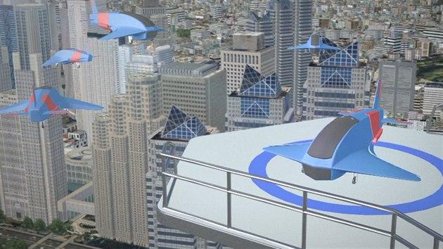 5420a2871 Byty budoucnosti mají mít přistávací plochu pro drony. Podívejte se ...
