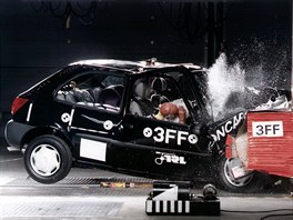 Crashtest Ford Fiesta