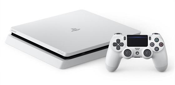 PlayStation 4 Slim - Glacier White