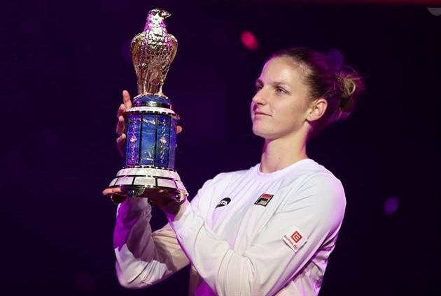 Karolína Plíšková dominou o torneio de Doha. Berdych terminou em Roterdão