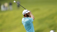 Dustin Johnson na turnaji v Pacific Palisades.
