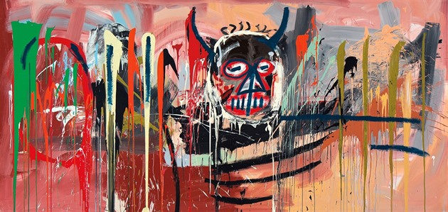 Jean-Michel Basquiat: Untitled (Black Devil Head) (57,29 milionu dolarů)