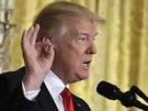 Americký prezident Donald Trump. (16. 2. 2017)