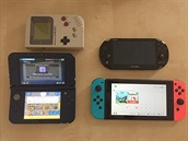 Gameboy, PS Vita, New 3DS XL, Nintendo Switch