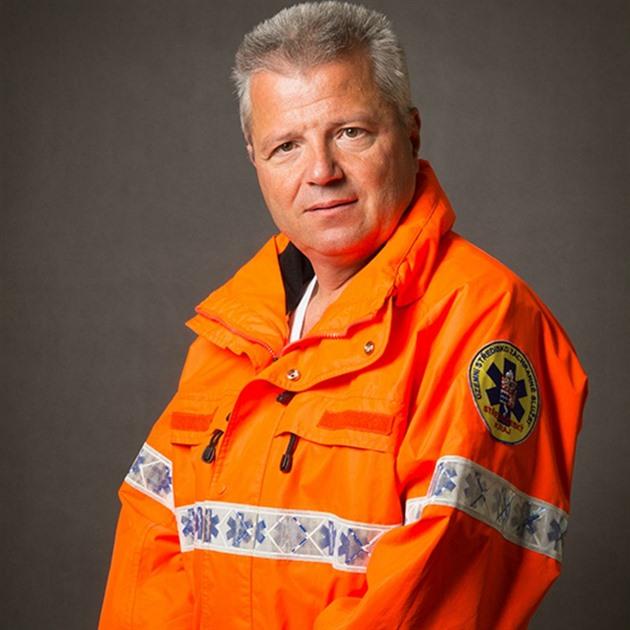 Šéf středočeských záchranářů Martin Houdek