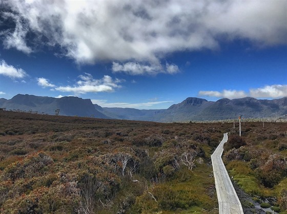 10 Cradle Mountain Run: Krajina