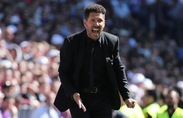 Simeone após derby: Real não era perigoso, no final ficamos perto da vitória