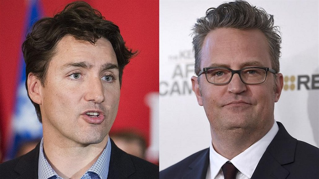 Justin Trudeau a Matthew Perry