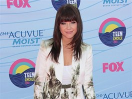 Carly Rae Jepsenová na Teen Choice Awards (Universal City, 22. července 2012)