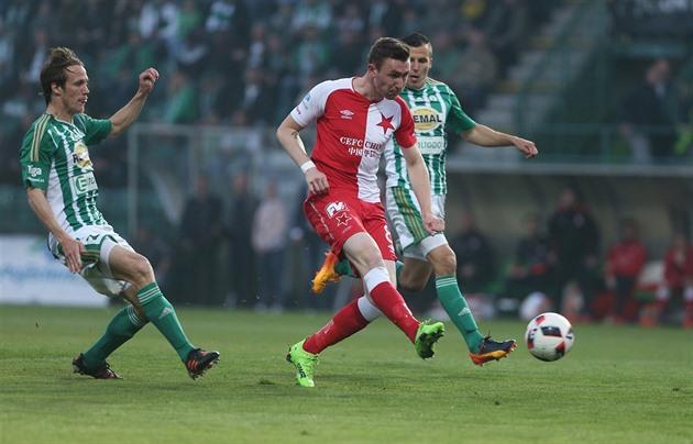 Bohemios – Slavia 1: 3, el líder decidió a la mitad, Zmrhal y Sýkora pegaron