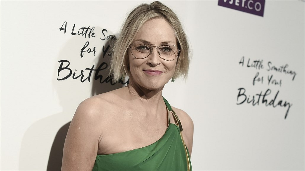 Sharon Stone (Los Angeles, 3. května 2017)