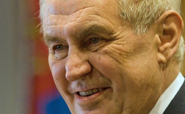Prezident Miloš Zeman na návštěvě Libereckého kraje.