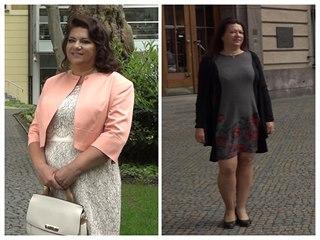 Svatební proměna: Kostýmek i pouzdrové šaty pro matku nevěsty Martinu
