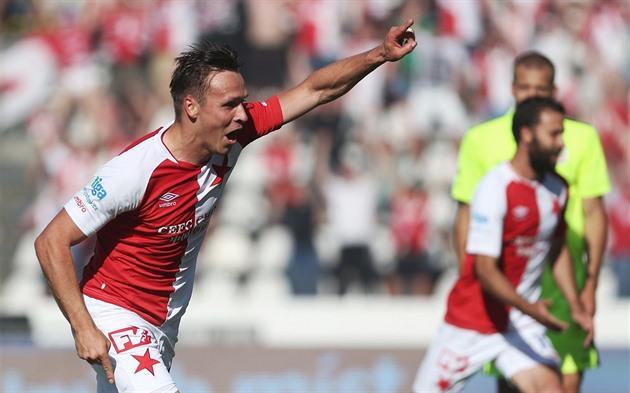 Slavia – Brno 4: 0, el nuevo campeón de fútbol tiró para el título