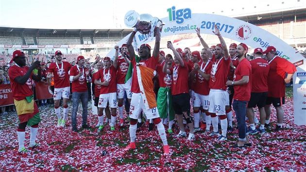 El título es Slavia, tazas de Boleslav, los reyes de los tiradores son Škoda y Lafata