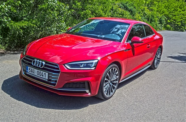 Test auta Audi A5 coupé